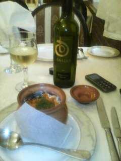 Белое вино Osadia к рыбе