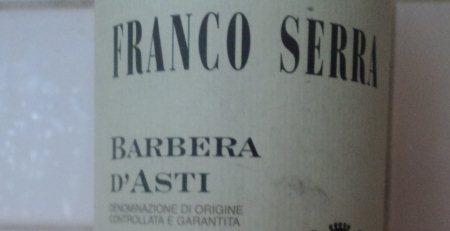 барбера ди асти франко серра