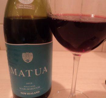 красное сухое вино Пино Нуар Матуа Новая Зеландия
