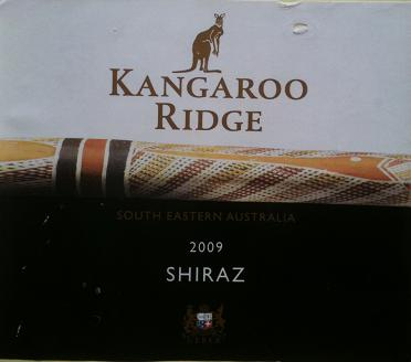 old label kangaroo