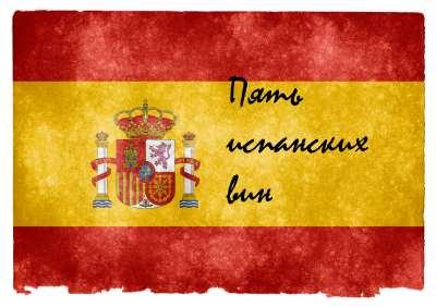 Пять испанских вин