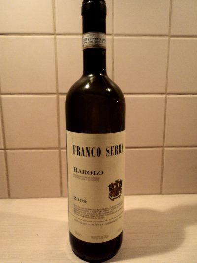 итальянское красное сухое вино бароло франко серра бутылка