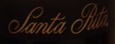 красное сухое чилийское вино Санта Рита Каберне