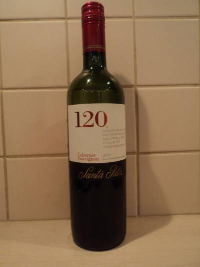 расное сухое чилийское вино Санта Рита Каберне Совиньон