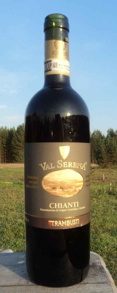 красное вино Вал Серена Кьянти Трамбусти