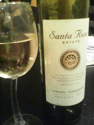 аргентинское белое вино Санта Роза Шенин Торронтес