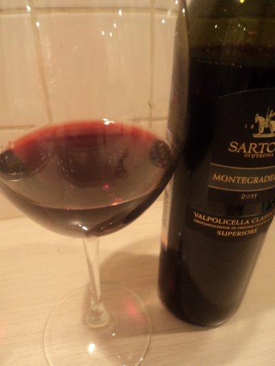 sartori di verona montegradella бокал бутылка