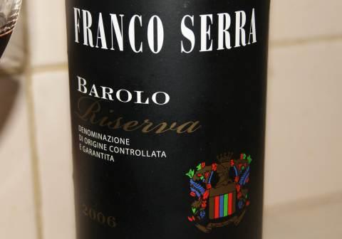 Barolo riserva 2006 franco serra
