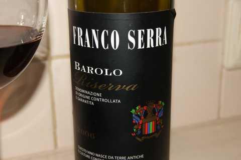 Barolo Riserva Franco Serra 2006