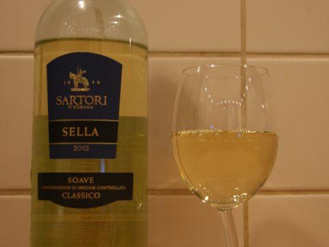 Sartori di Verona Soave Classico цвет вина