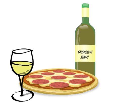 пицца и совиньон блан