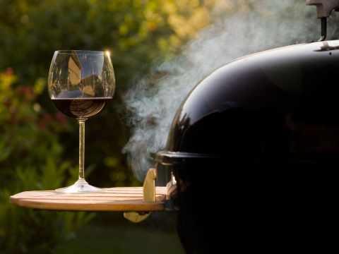 вино и гриль