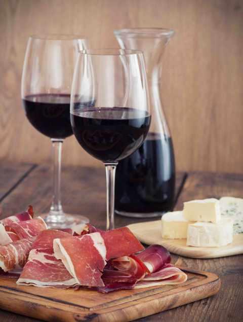вино и хамон