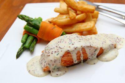 шардоне и жирная рыба