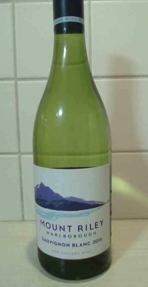 Mount Riley SAuvignon blanc Marlborough bottle