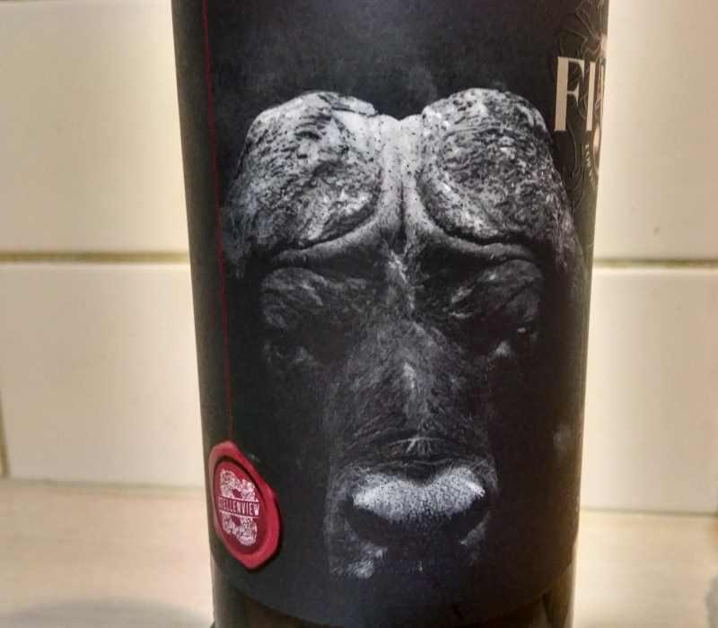 Top Five Shiraz bottle
