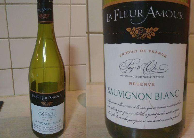 la fleur amour sauvignon blanc bottle