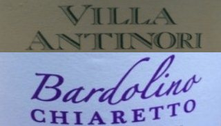 villa antinori and tommasi bardolino